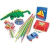 "ChenilleKraft Artstraws Classpack Thin Straws - 1800 Piece(s) - 16.5"" - 1800 / Box - Assorted"