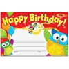 "Trend Happy Birthday Owl-Stars Recognition Awards - 8.50"" x 5.50"" - Multicolor"