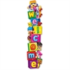 "Trend Welcome BlockStars Expressions Banner - Welcome - 60"" Width - Multicolor"