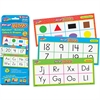 Trend Wipe-Off Learning Card - Theme/Subject: Learning - Skill Learning: Reading, Counting, Listening, Uppercase Letters, Lowercase Letters, Word, Number, Shape, Color, Alphabet - 24 Pieces - 4+