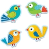 Carson-Dellosa Boho Birds Cut-Outs - 36 Cutout - Boho Bird - Precut - Multicolor - Card Stock - 36 / Pack
