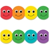 "Hygloss Smiley Face Design Border Strips - 12 Smiley Face - Long Lasting, Durable, Damage Resistant - 36"" Height x 3"" Width - Assorted - 12 / Pack"