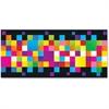 "Trend Pixels Bolder Borders - Pixels - Precut, Durable, Reusable - 2.75"" Height x 429"" Width - Multicolor - 1 Pack"