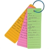 Hygloss Bright Book Buddies Bookmarks - Fun Theme/Subject - 25 - Assorted - 25 / Pack