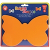 Hygloss Bright Color Butterfly Shapes - 72 Piece(s) - 1 Pack - Assorted - Paper