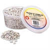 Hygloss Bucket 'O Craft Pebbles - 1 Each - Natural, White Frost