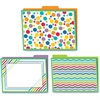 Carson-Dellosa Color Me Bright Design File Folders Set - Multi-colored - 6 / Pack