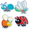 "Carson-Dellosa Buggy For Bugs Cut-Outs Set - Learning Theme/Subject - 36 Cutout - ""Buggy"" for Bugs - 5"" Height x 5.75"" Width - Multicolor - Card Stock - 36 / Pack"