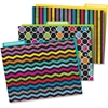 Carson-Dellosa Colorful Chalkboard File Folders Set - Multi-colored - 6 / Pack
