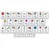Trend Bulletin Board Set - Theme/Subject: Learning - Skill Learning: Letter Recognition, Letter Matching, Letter Sound, Vowels, Consonant, Number - 29 Pieces