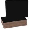 "Flipside Black Chalk Board Class Pack - 9.5"" (0.8 ft) Width x 12"" (1 ft) Height - Black Surface - Rectangle - 24 / Pack"