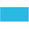 "Pacon Classic Dots Design Bulletin Board Papers - 48"" x 12 ft - 1 Roll - Aqua"