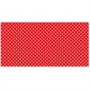 "Fadeless Classic Dots Design Bulletin Board Papers - 48"" x 12 ft - 1 Roll - Red - Paper"