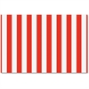 "Fadeless Classic Stripes Design Bulletin Board Papers - 48"" x 12 ft - 1 Roll - Red, White - Paper"