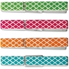 """Teacher Created Resources Moroccan Pattern Clothes Pins - 2.9"""" Length x 0.3"""" Width - for Decoration, Classroom - Sturdy, Lightweight - 20 Pack - Multi - Wood"""
