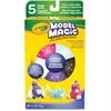 Model Magic Shimmer Modeling Material - 5 / Pack - White, Black, Purple, Raspberry, Aquamarine
