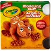 Crayola Modeling Clay - 4 / Box - White, Orange, Black, Brown