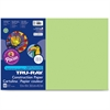 "Tru-Ray Heavyweight Construction Paper - 18"" x 12"" - 76 lb Basis Weight - 25 / Pack - Chartreuse - Sulphite, Card Stock"