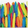 "ChenilleKraft Duck Quill Feathers - 96 Piece(s) - 5"" x 3"" - 96 / Pack - Assorted"