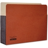 """Kleer-Fax 5-1/4"""" Expanding File Pocket - Legal - 8 1/2"""" x 14"""" Sheet Size - 5 1/4"""" Expansion - 21 pt. Folder Thickness - Red, Manila - Recycled - 1 Each"""