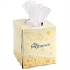 "Preference Cube Box Facial Tissue - 2 Ply - 7.65"" x 8.85"" - White - Soft, Absorbent - 100 Sheets Per Box - 36 / Carton"