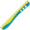 "Helix 12"" Wave Ruler - 12"" Length - 1 Each - Assorted"