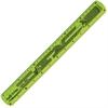 "Helix Twist?n Flex 12"" Ruler - 12"" Length - Imperial, Metric Measuring System - 1 Each - Assorted"