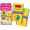 Trend Challenge Cards Learning Card - Theme/Subject: Learning - Skill Learning: Fraction - 56 Pieces - 9+