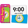 Trend Telling Time Learning Card - Theme/Subject: Learning - Skill Learning: Time - 56 Pieces - 6+