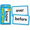 Trend Learning Card - Theme/Subject: Learning - Skill Learning: Reading, Sight Words - 56 Pieces - 6+