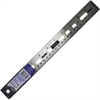 "Helix 12"" Stainless Steel Ruler - 12"" Length - Stainless Steel - 1 Each - Assorted"