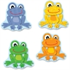 Carson-Dellosa FUNky Frogs Cut-Outs - Learning Theme/Subject - 36 Frog Fun - Multicolor - Card Stock - 36 / Pack