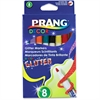 Prang Decor Glitter Markers - Assorted Water Based Ink - 8 / Set