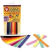Hygloss Stick-a-Licks Chain Strips - 100 Piece(s) - 1 Pack - Assorted