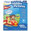 Mead PK-K Learning Through Hidden Pictures Workbook Learning Printed Book - Book - 64 Pages