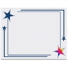 "Geographics Rising Star Award Certificates - 8.50"" x 11"" - Inkjet, Laser Compatible - Blue, Gold"