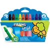 Prang be-be Jumbo Crayons - Assorted - 10 / Set