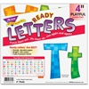 "Trend 4"" Playful Ready Letters Combo Pack - Learning Theme/Subject - 59 Uppercase Letters, 84 Lowercase Letters, 20 Numbers, 35 Punctuation Marks, 18 Spanish Accent Mark - Pixels - Reusable, Easy to U"