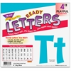 "Trend 4"" Playful Ready Letters Combo Pack - Learning Theme/Subject - 59 Uppercase Letters, 84 Lowercase Letters, 20 Numbers, 35 Punctuation Marks, 18 Spanish Accent Mark - Reusable, Easy to Use, Fade"