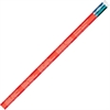 Moon Products 50 States/Capitals Themed Pencils - #2 Lead Degree (Hardness) - Red Wood Barrel - 1 Dozen