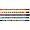Moon Products Aliens Motivational Themed Pencils - #2 Lead Degree (Hardness) - Assorted Barrel - 1 Dozen