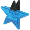 Ashley Star Magnet Clip - for Artwork, Sign, Photo - Magnetic, Strong - 1 Each - Blue