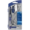 Staedtler 9 Piece Math Set - 9 Piece(s) - Blue, Silver