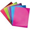 "ChenilleKraft Mirror Boards Set - 11"" x 8.5"" - 5 / Pack - Red, Green, Purple, Blue, Pink - Card Stock"