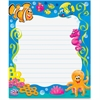 "Trend Sea Buddies Rectangle Notepad - 50 Sheets - Printed - 6.50"" x 7.75"" - Multicolor Paper - 50 / Pad"