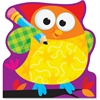 """Trend Owl-Stars Shaped Note Pads - 50 Sheets - Printed - 5"""" x 5"""" - Multicolor Paper - 50 / Pad"""