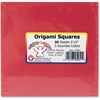 "Hygloss Mighty Brights Origami Squares - 50 Piece(s) - 5"" x 5"" - 1 Pack - Assorted"