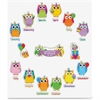 Carson-Dellosa Colorful Owls Birthday Bulletin Board Set - Birthday, Learning Theme/Subject - 14 Owl, 12 Month Heading - Multicolor - 1 Set