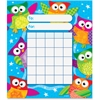 Trend Owl-Stars! Kid Learning Chart - Theme/Subject: Learning - Skill Learning: Building, Goal - 36 Pieces