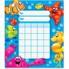 Trend Sea Buddies Kid Learning Chart - Theme/Subject: Learning - Skill Learning: Building, Goal - 36 Pieces